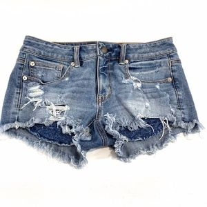 American Eagle Outfitters Shortie Jeans Shorts